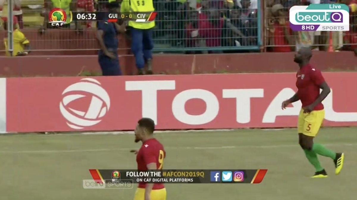 CAF - Guinea vs Ivory Coast - facebook twitter instagram