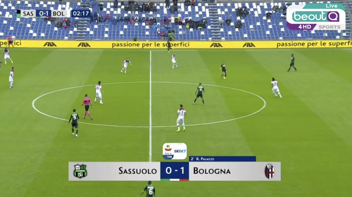 Oct 28th - Sassuolo vs Bologna